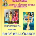 locandina baby bellydance